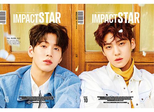 임팩트 스타 Impact Star B형 2020.4 (앞표지 : 송유빈, 뒤표지 : 김국헌)