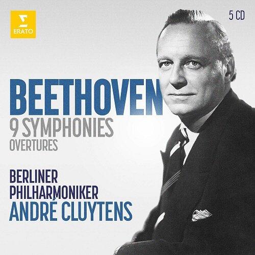 [수입] 베토벤 : 교향곡 전곡과 서곡 [5CD]