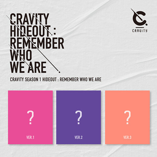 CRAVITY(크래비티) SEASON1. [HIDEOUT: REMEMBER WHO WE ARE] [버전 3종 중 랜덤발송]