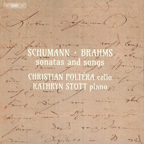 [수입] 슈만 & 브람스 : 바이올린 소나타와 가곡 (첼로 편곡) [SACD Hybrid]
