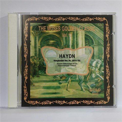 [중고] [CD] THE MUSES GOLEDEN CLASSIC VOL,13_ HAYDN : Symphonies Now. 94, 100& 101