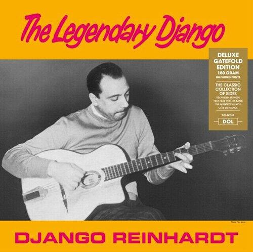 [수입] Django Reinhardt - The Legendary Django [Deluxe Gatefold Edition][180g LP]