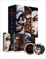 디즈니의 악당들 1~3 세트 (케이스 + 캐릭터북마크 + 스티커팩) - 전3권
