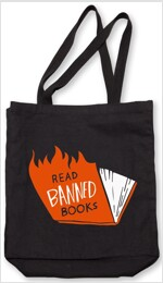 Banned Books Tote (Flames) (Other)