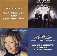 [수입] Nicki Parrott - Like A Lover + Stompin' At The Savoy [2CD]