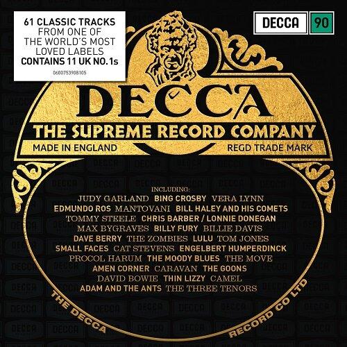 [수입] DECCA 팝, 크로스오버 베스트 [4CD]
