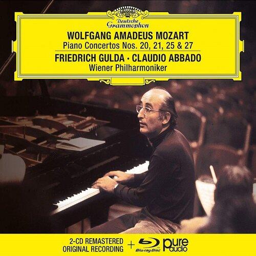 [수입] 모차르트 : 피아노 협주곡 20, 21, 25 & 27번 (2CD+BDA)