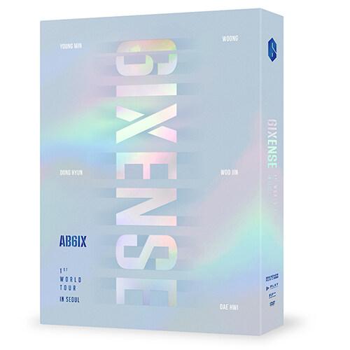에이비식스 - AB6IX 1ST WORLD TOUR : 6IXENSE IN SEOUL DVD (2disc)