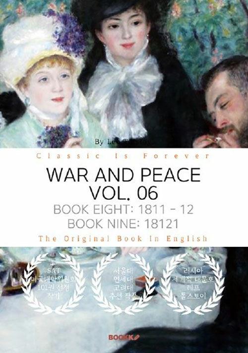 [POD] WAR AND PEACE, VOL. 06 - 전쟁과 평화, 6부 (영문원서)