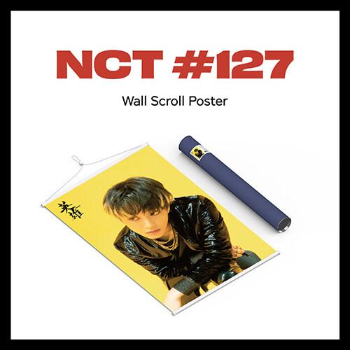[굿즈] 엔시티 127 - Wall Scroll Poster [마크 Ver.]
