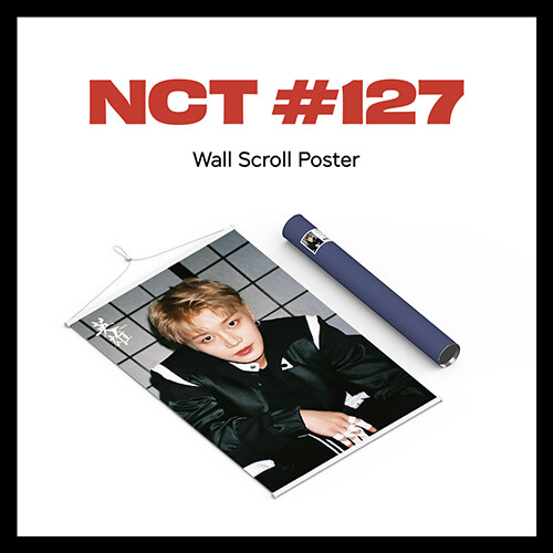 [굿즈] 엔시티 127 - Wall Scroll Poster [태일 Ver.]
