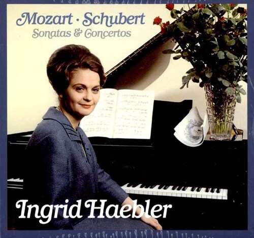 잉그리드 헤블러 - 모차르트와 슈베르트 (모차르트 피아노 협주곡 전곡 수록) [34CD]