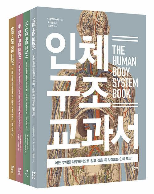 인체 의학 도감 베스트 세트 - 전4권