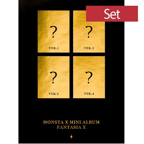 [SET] 몬스타엑스 - 미니 FANTASIA X [1+2+3+4 Ver.]