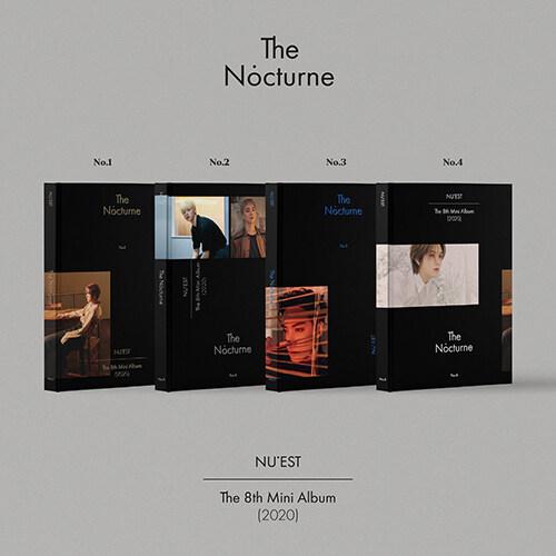 [세트] 뉴이스트 - 미니 8집 The Nocturne [1+2+3+4 Ver.]