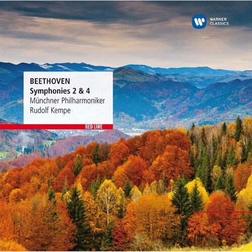 [수입] 베토벤 : 교향곡 2 & 4번