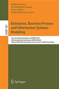 Enterprise, Business-Process and Information Systems Modeling: 21st International Conference, Bpmds 2020, 25th International Conference, Emmsad 2020, (Paperback, 2020)