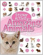 Amazing Animals Sticker Activity (Paperback)