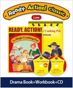Pack-Ready Action Classic (Low) : The Magic Cooking Pot (StudentBook + WorkBook + CD)