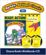 Pack-Ready Action Classic (Low) : Little Green Frog (StudentBook + WorkBook + CD)