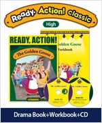 Pack-Ready Action Classic (Low) : The Golden Goose (StudentBook + WorkBook + CD)