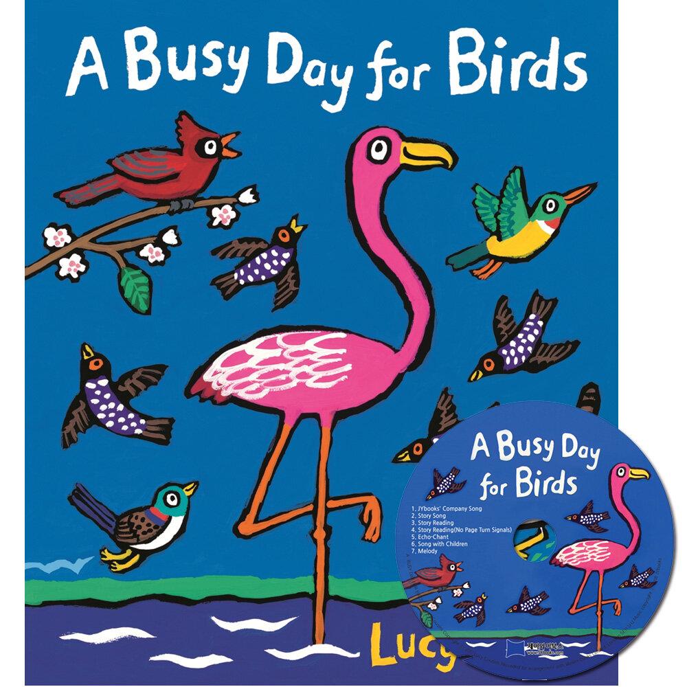 노부영 A Busy Day for Birds (Paperback + CD)