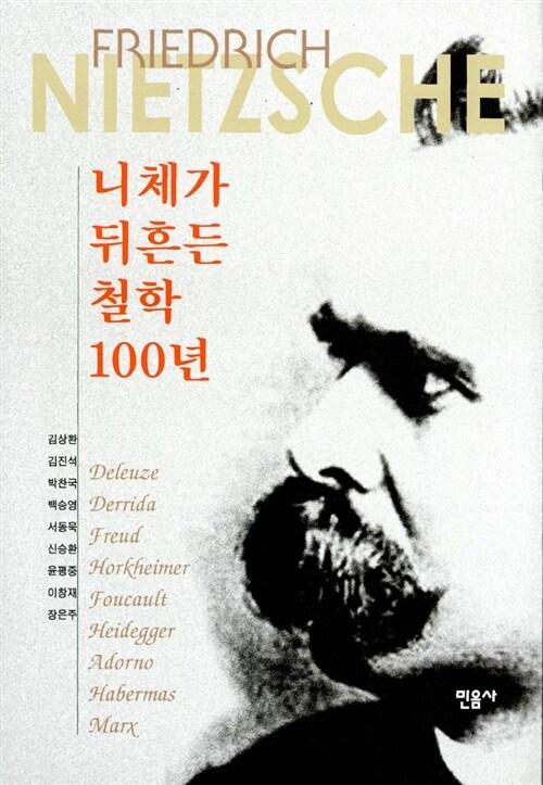 니체가 뒤흔든 철학 100년