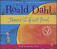James and the Giant Peach (Audiobook, Unabridged Edition, Audio CD 3장, 영국식 발음)