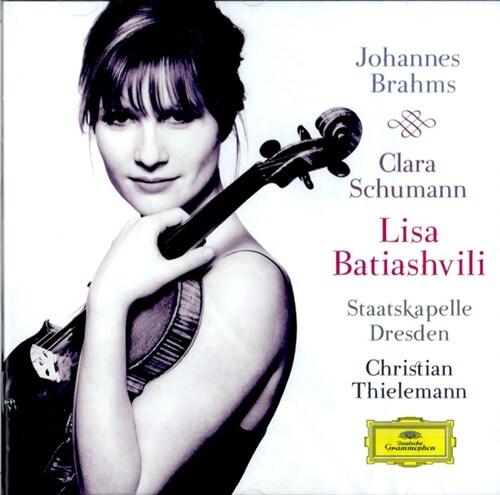[수입] 브람스 : 바이올린 협주곡 & 클라라 슈만 : 로망스 Op.22