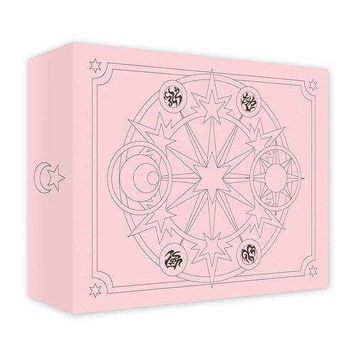카드캡터 체리 스티커 50장 세트 1 (핑크케이스)