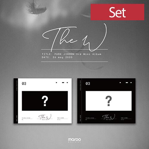 [세트] 박지훈 - 미니 3집 The W [Blanc + Noir Ver.]