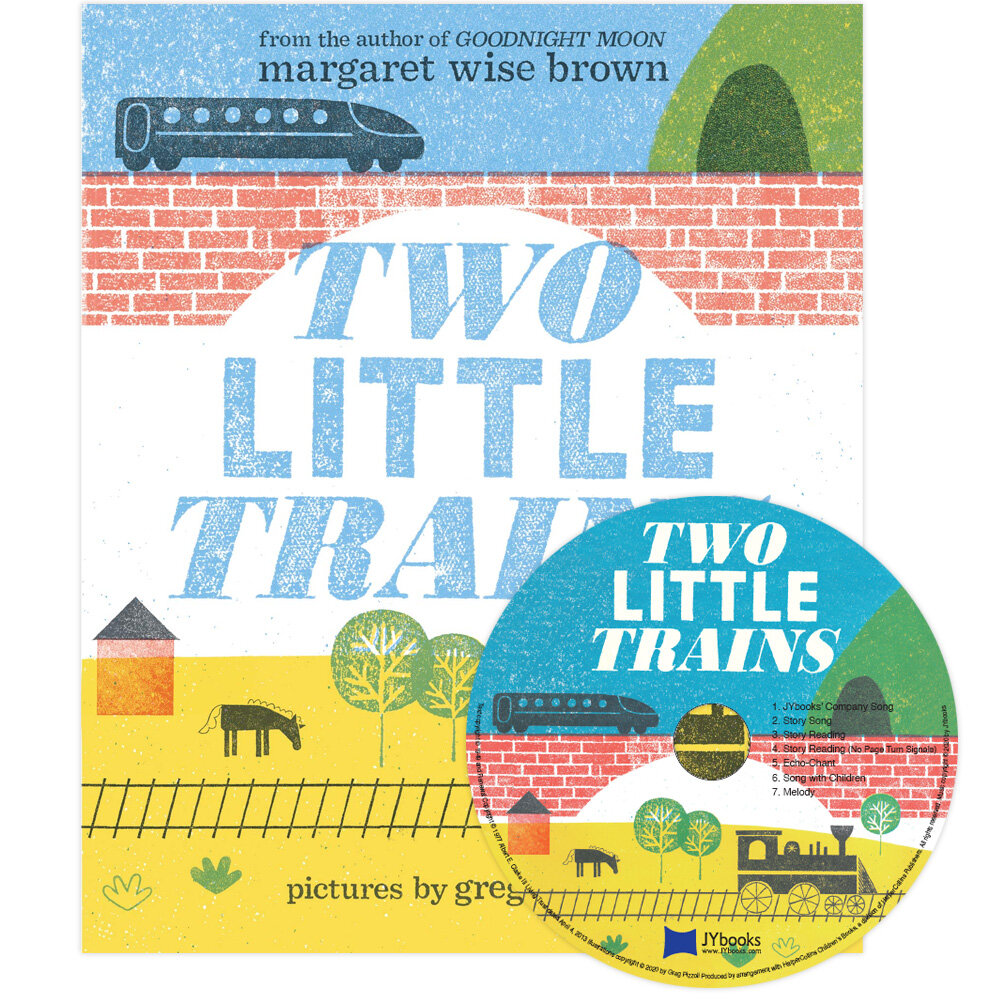 노부영 Two Little Trains (Hardcover + CD)