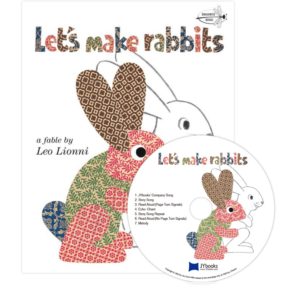 노부영 Lets Make Rabbits (Paperback + CD)