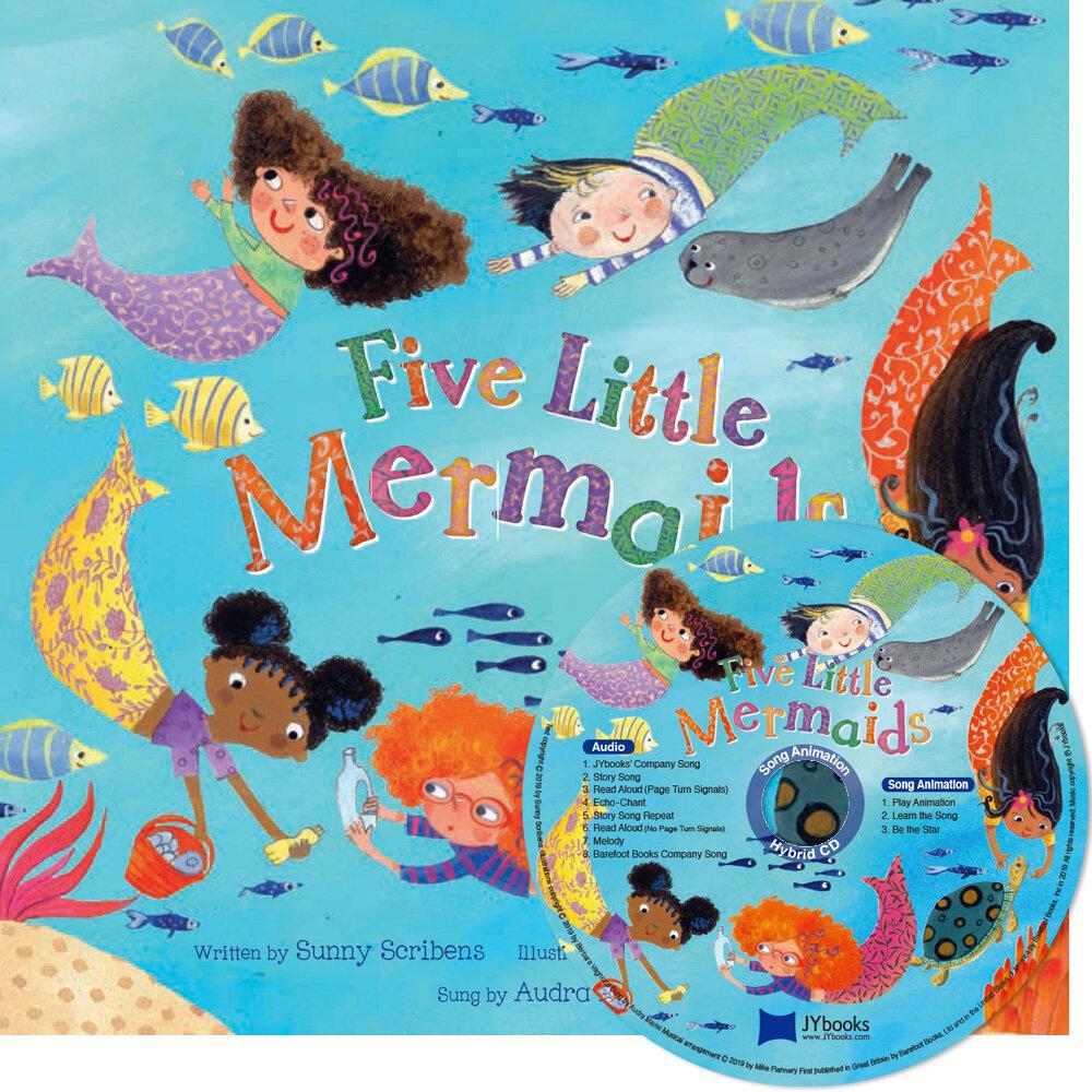 노부영 Five Little Mermaids (Paperback + CD)