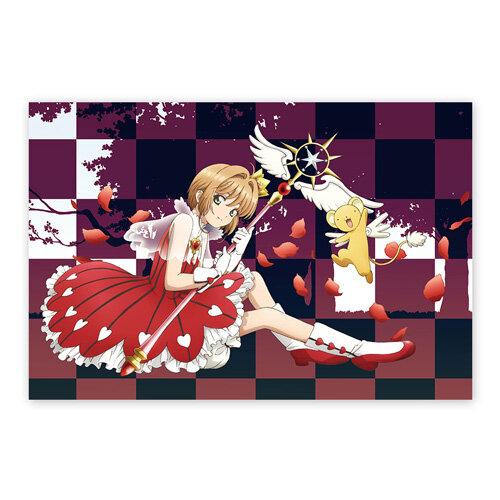 카드캡터 체리 프리미엄 홀로그램 포스터 4