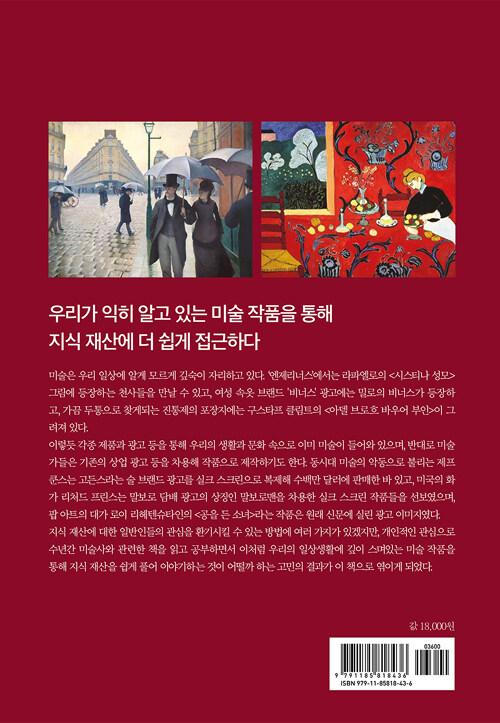 미술로 읽는 지식재산 : 일상생활에 깊이 스며있는 미술 작품을 통해 쉽게 풀어 쓴 지식재산 이야기