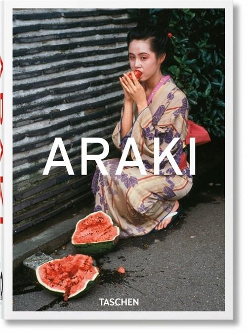 Araki. 40th Anniversary Edition (Hardcover)