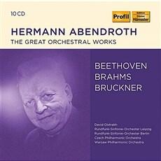 [수입] 브루크너 : 교향곡 4, 5, 7, 9 / 베토벤: 교향곡 3, 6, 7, 9번 / 브람스: 교향곡 1번 외 [10 for 3]