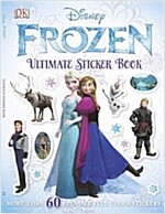 Ultimate Sticker Book: Frozen: More Than 60 Reusable Full-Color Stickers (Paperback)