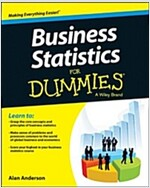 Business Statistics for Dummies (Paperback)