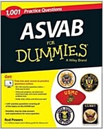 1,001 ASVAB Practice Questions for Dummies (+ Free Online Practice) (Paperback)