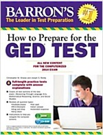 How to Prepare for the GED Test [With CDROM] (Paperback)