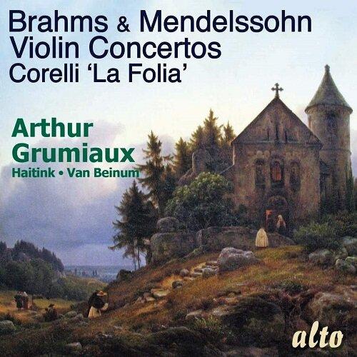 [수입] 브람스 & 멘델스존: 바이올린 협주곡 / 코렐리: 라 폴리아