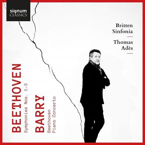 [수입] 베토벤: 교향곡 1-3번 / 배리: 피아노 협주곡 [2 for 1]