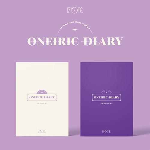 [세트] 아이즈원 - 미니 3집 Oneiric Diary [일기 + 환상 Ver.]
