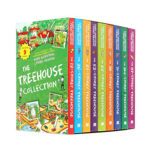 13층 나무집 Treehouse 시리즈 9종 박스 세트 Paperback Collection (Paperback 9권, 영국판)