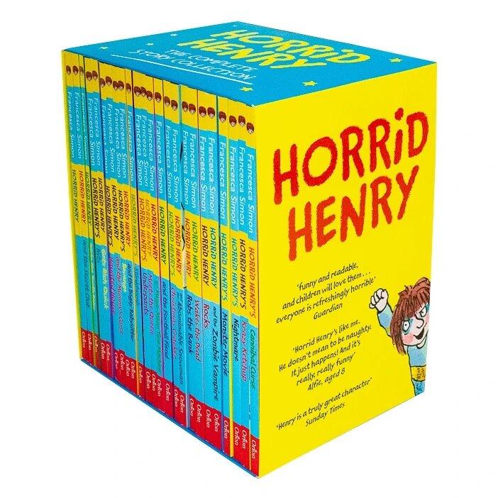 호리드헨리 Horrid Henry 24권 박스 세트 (Paperback 24권)