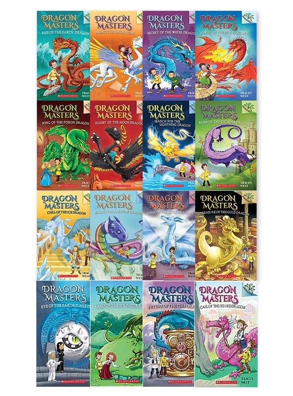 [세트] Dragon Masters #1~16 세트 (Paperback 16권)