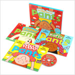 The Big Box of Pants 3종 세트 (Paperback 3권 + Audio CD 1장, 영국판)