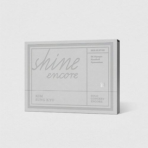 김성규 - SOLO CONCERT : SHINE ENCORE [2DVD]